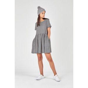 HUFFER gingham dress w/ pockets.